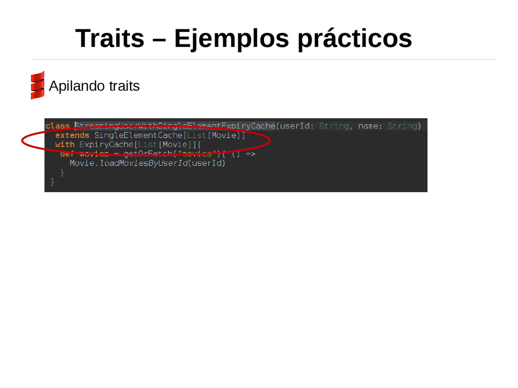 Traits – Ejemplos prácticos Apilando traits