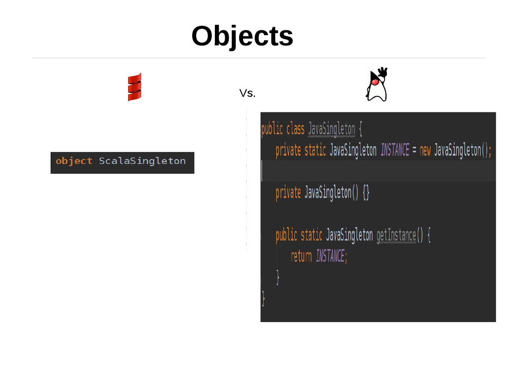 Objects Vs.