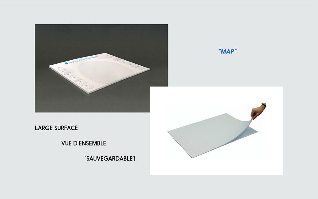 """map"" large surface vue d'ensemble 'sauvegardab..."