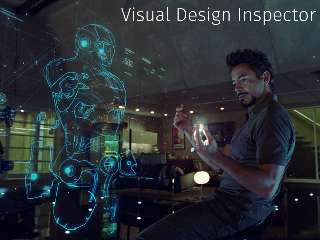Visual Design Inspector