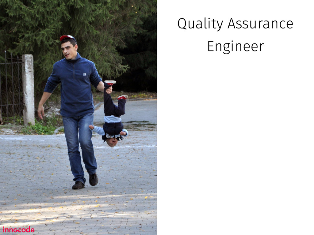 Quality Assurance Engineer