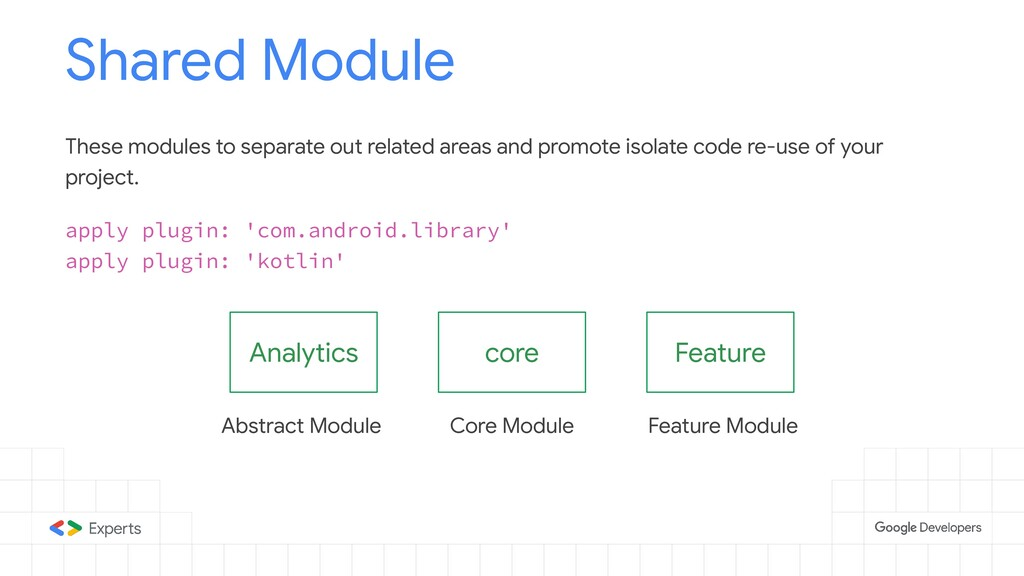 core Shared Module apply plugin: 'com.android.l...