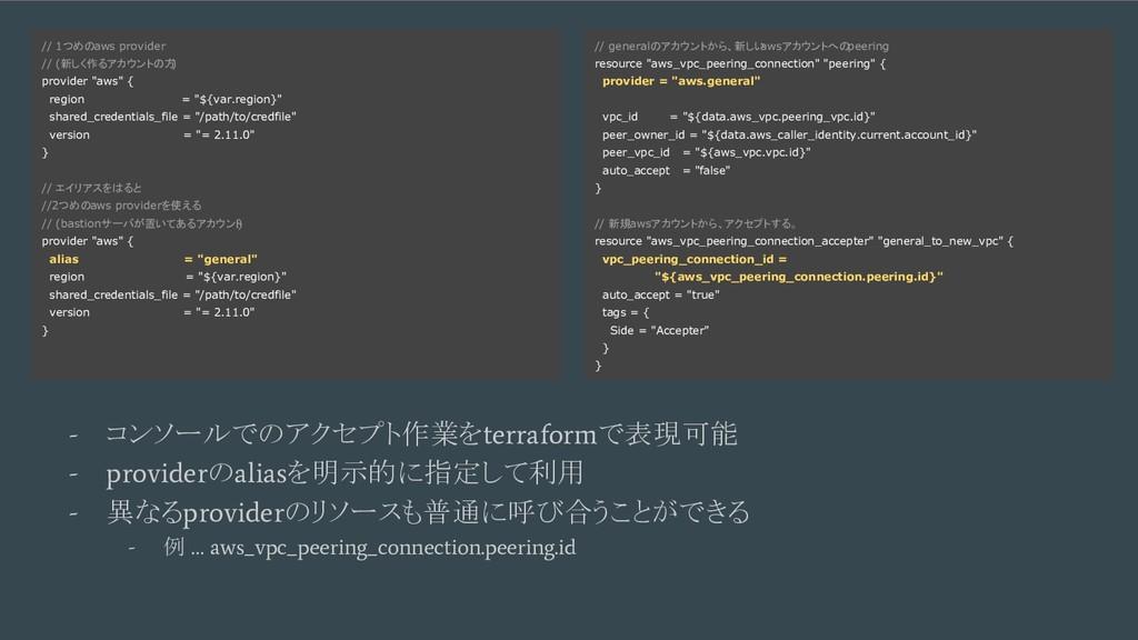 例1. Fastly + BigQuery - コンソールでのアクセプト作業を terrafo...