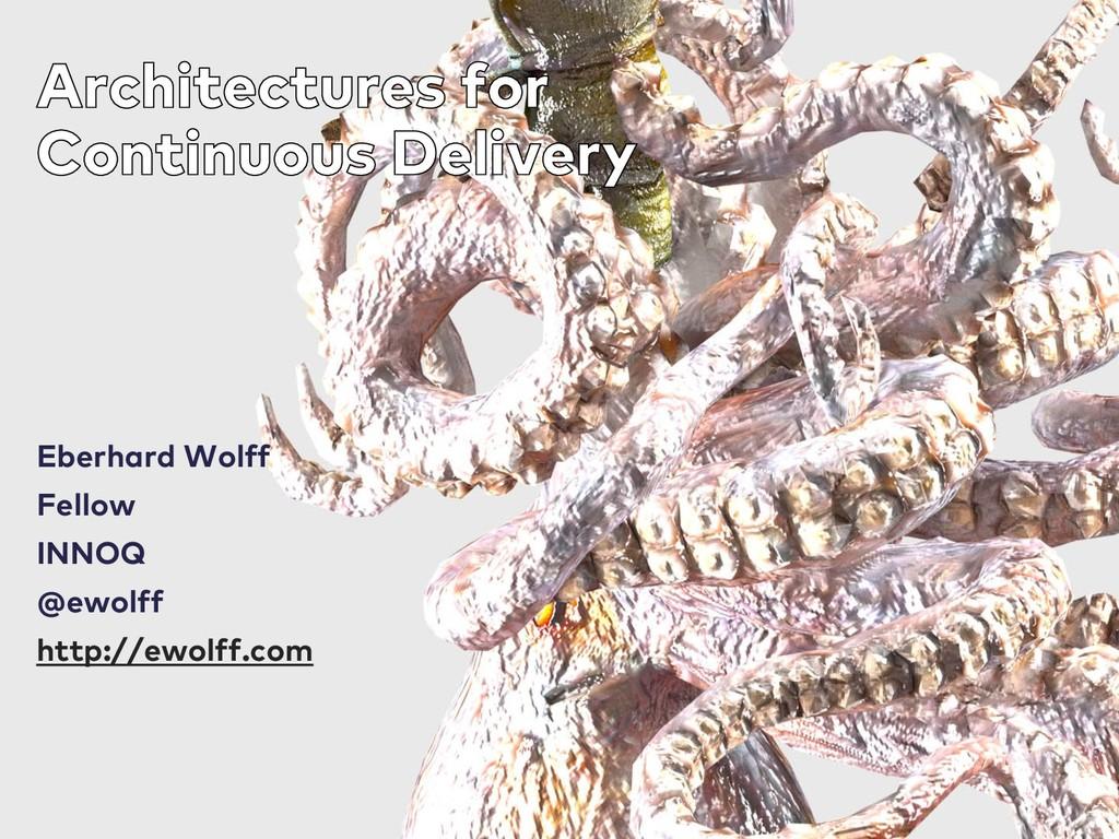 Eberhard Wolff Fellow INNOQ @ewolff http://ewol...