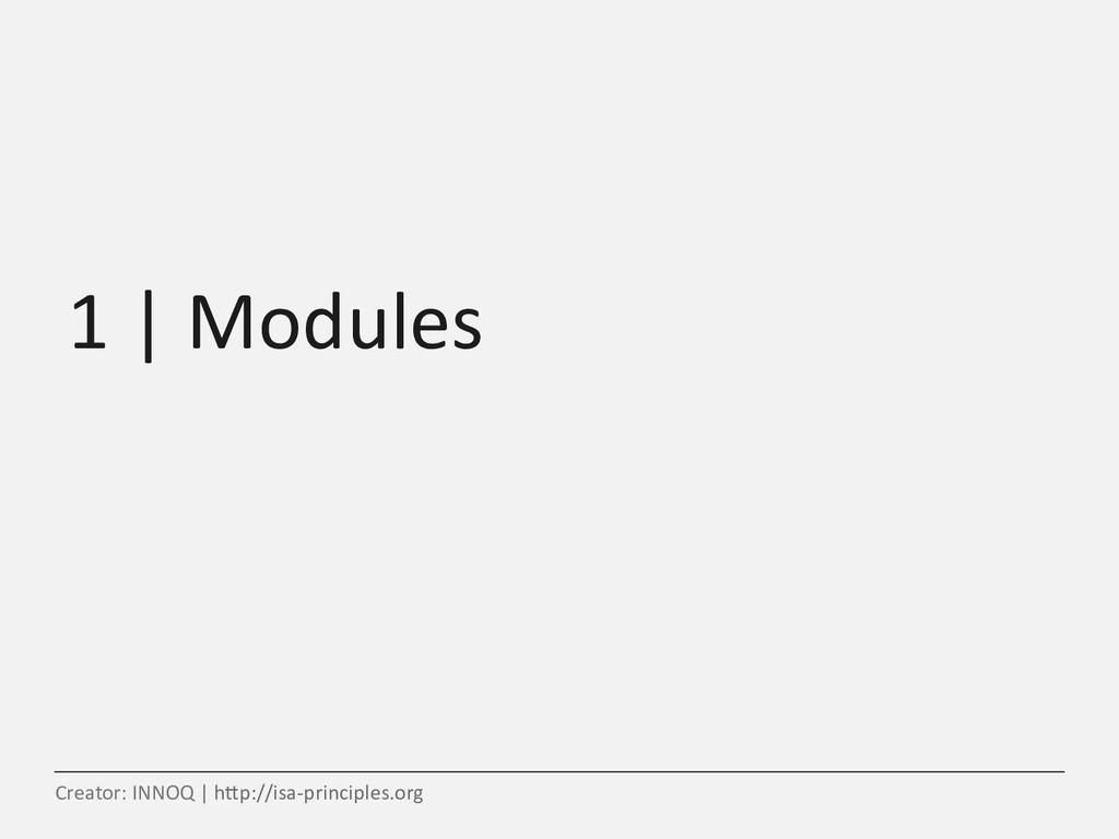 1   Modules Creator: INNOQ   h5p://isa-principl...