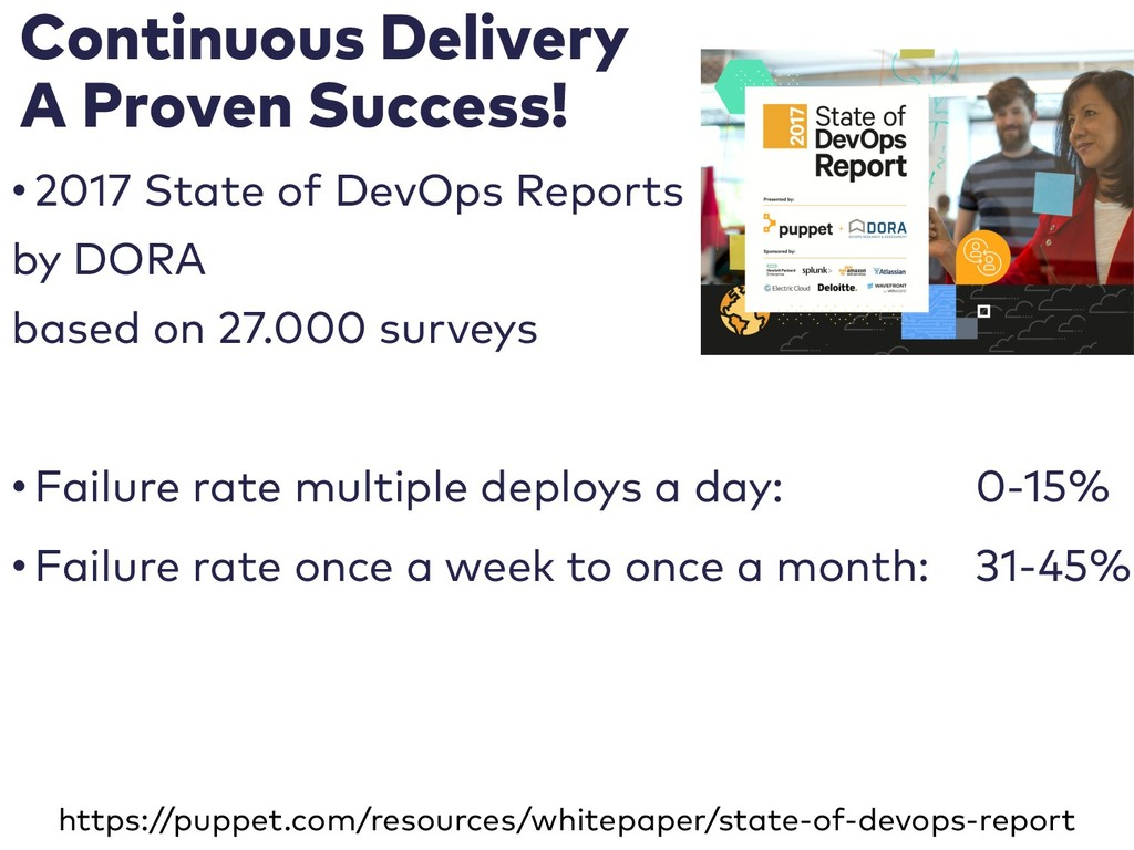 Continuous Delivery A Proven Success! • 2017 St...