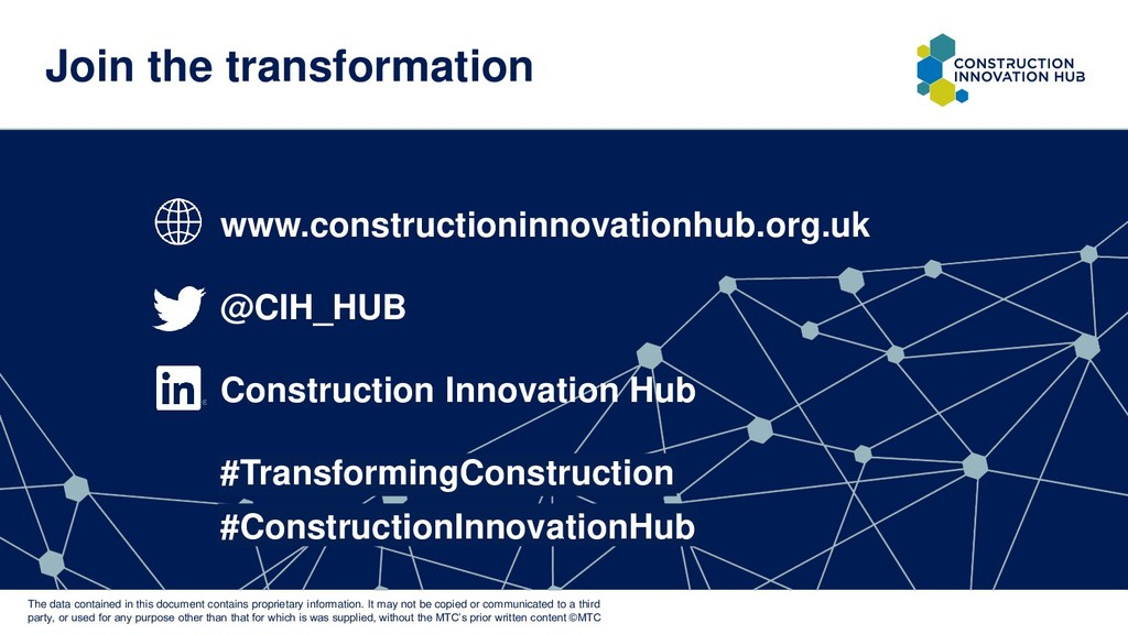 Join the transformation www.constructioninnovat...