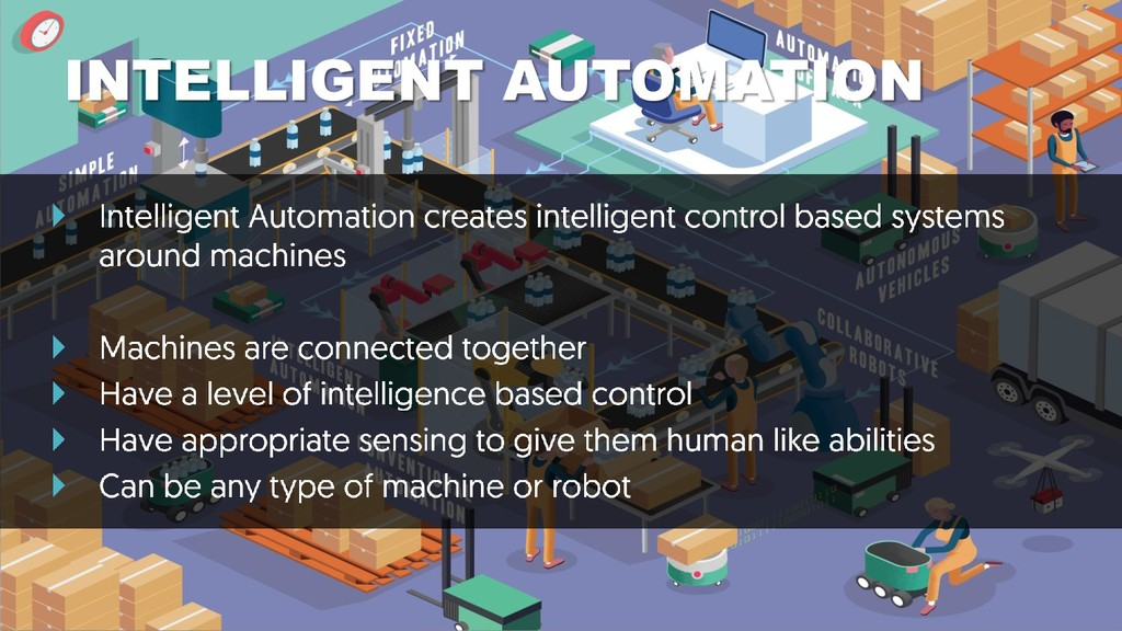 WHAT DO WE DO? INTELLIGENT AUTOMATION