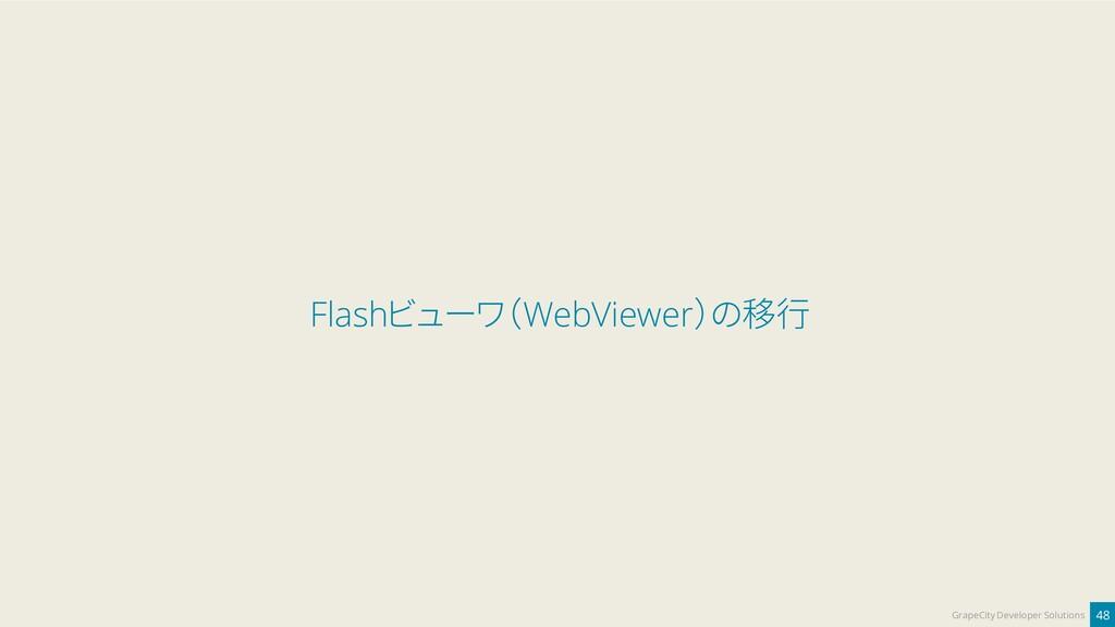 48 GrapeCity Developer Solutions Flashビューワ(WebV...