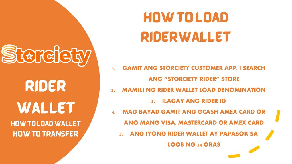 RIDER WALLET HOW TO LOAD WALLET HOW TO TRANSFER...