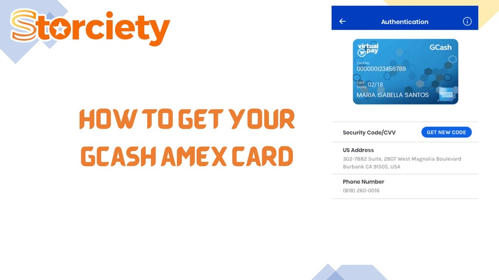 HOW TO GET YOUR GCASH AMEX CARD