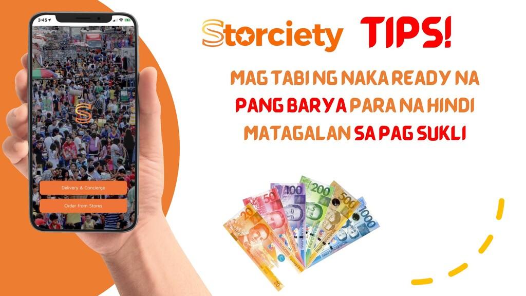 TIPS! MAG TABI NG NAKA READY NA PANG BARYA PARA...