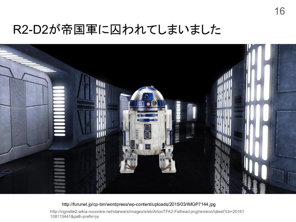 R2-D2が帝国軍に囚われてしまいました 16 http://furunet.jp/cp-bi...