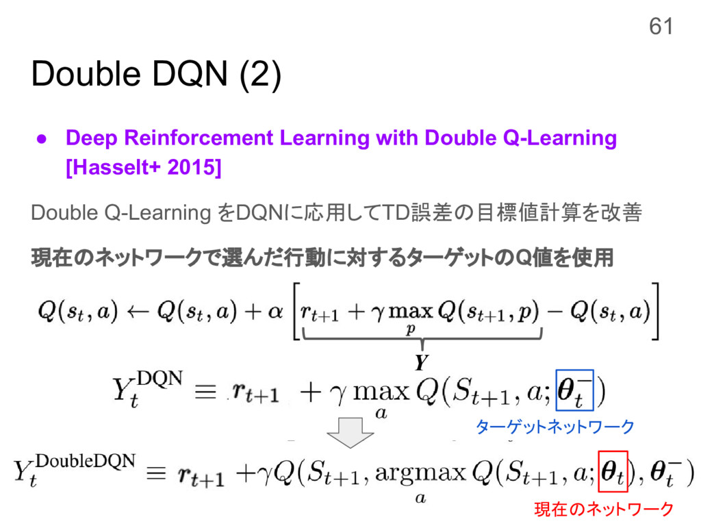 Double DQN (2) ● Deep Reinforcement Learning wi...