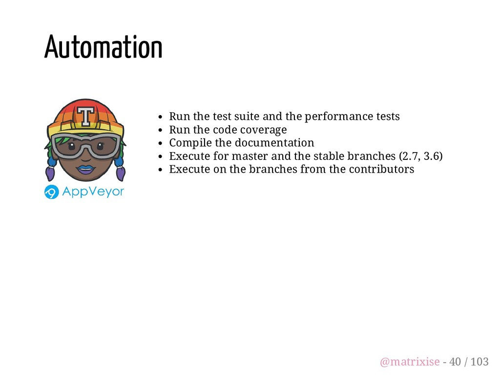 Run the test suite and the performance tests Ru...