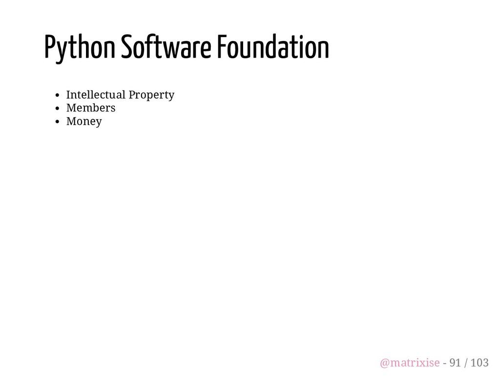 Python Software Foundation Intellectual Propert...