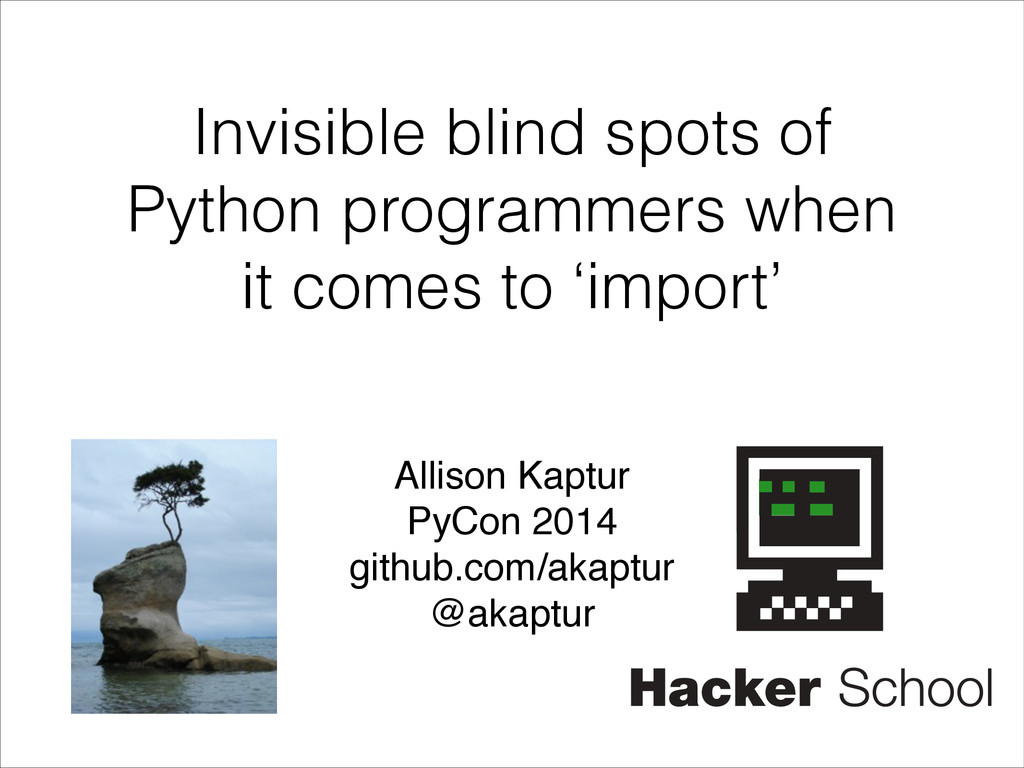 Invisible blind spots of Python programmers whe...