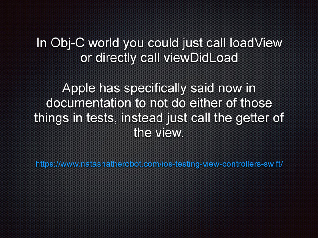 In Obj-C world you could just call loadView or ...