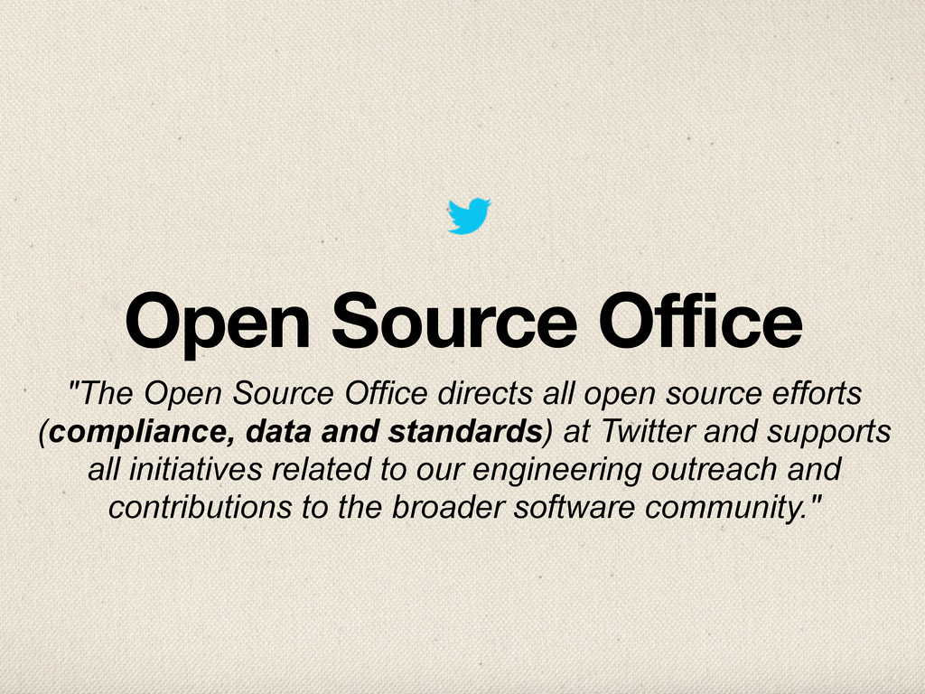 "Open Source Office ""The Open Source Office dire..."