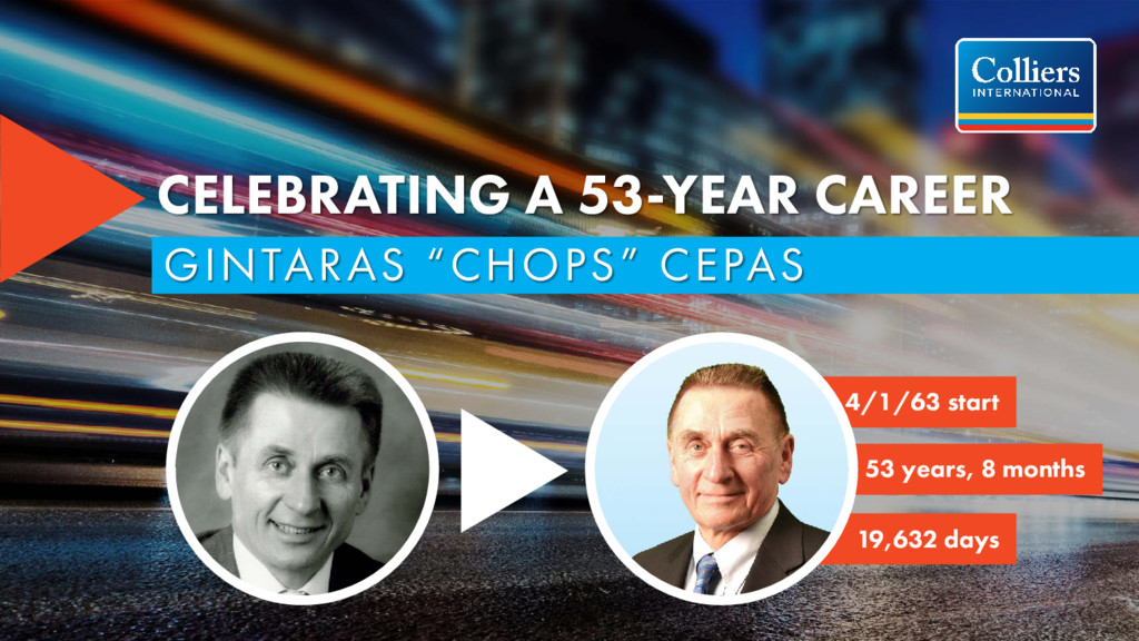 "CELEBRATING A 53-YEAR CAREER GINTARAS ""CHOPS"" C..."