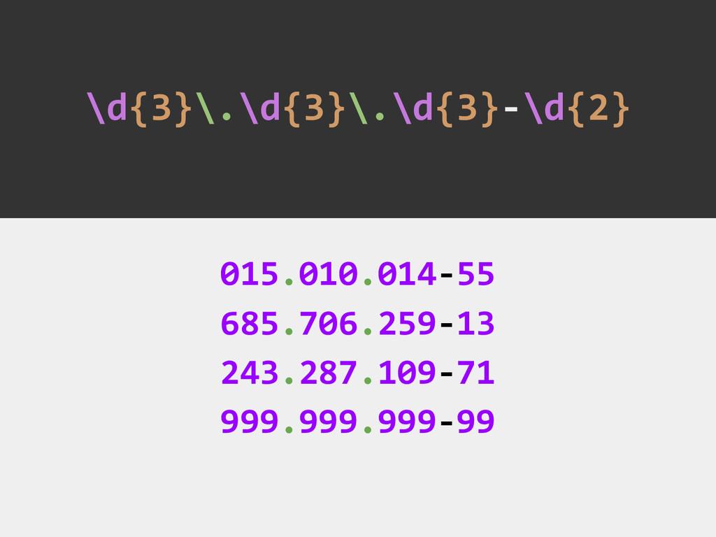 \d{3}\.\d{3}\.\d{3}-\d{2} 015.010.014-55 685.70...