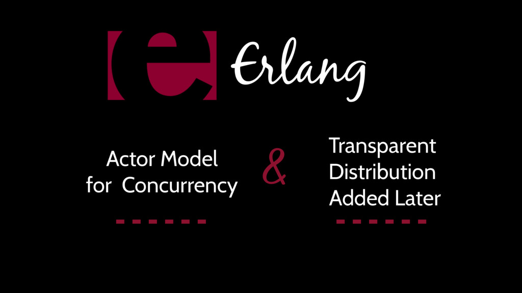 Erlang Actor Model for Concurrency Transparent ...