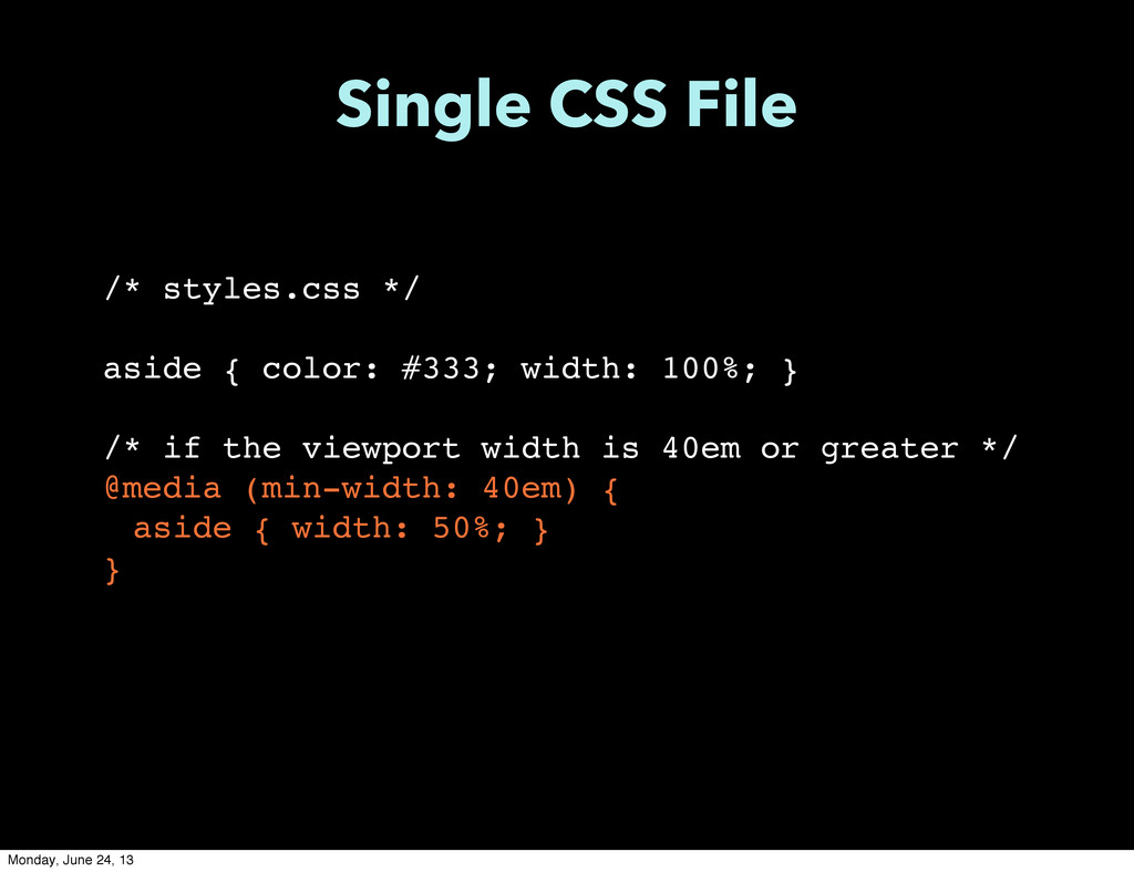 /* styles.css */ aside { color: #333; width: 10...