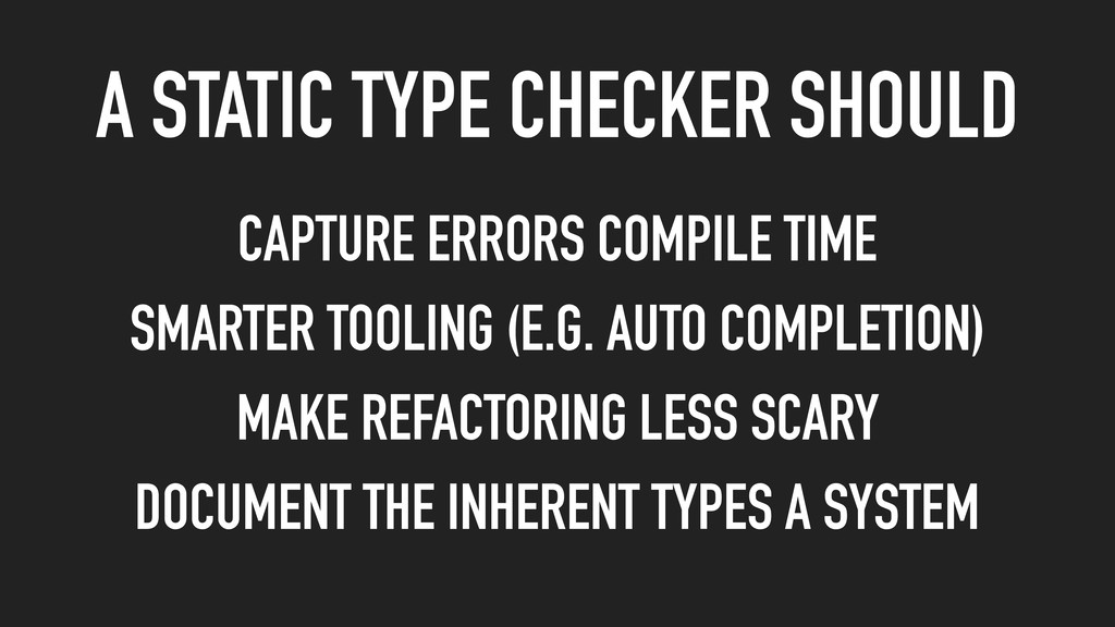 CAPTURE ERRORS COMPILE TIME SMARTER TOOLING (E....