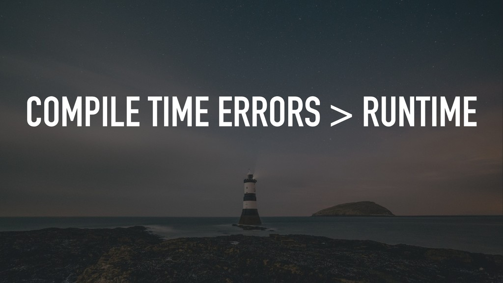 COMPILE TIME ERRORS > RUNTIME