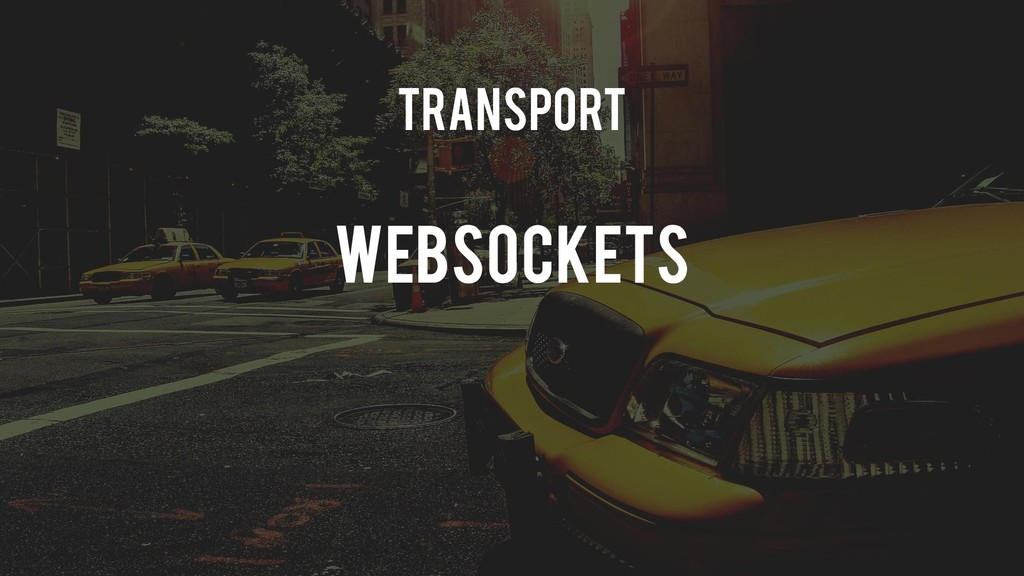 Transport Websockets
