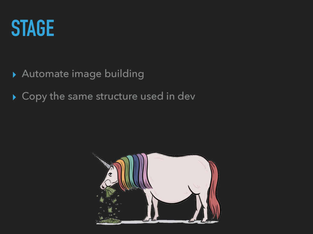STAGE ▸ Automate image building ▸ Copy the same...