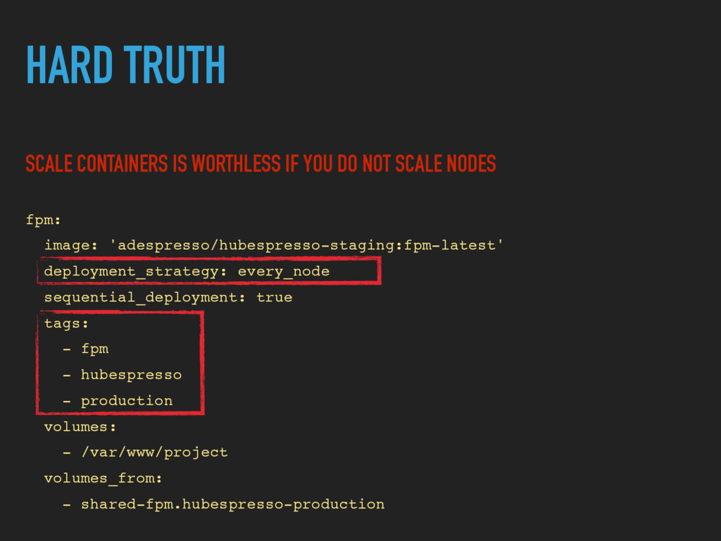 HARD TRUTH SCALE CONTAINERS IS WORTHLESS IF YOU...