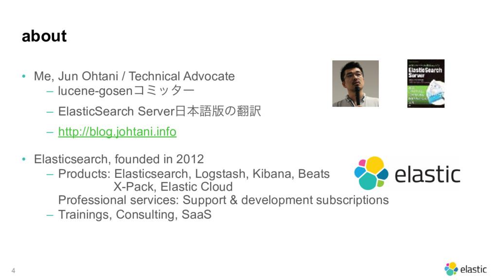 about • Me, Jun Ohtani / Technical Advocate ‒ l...