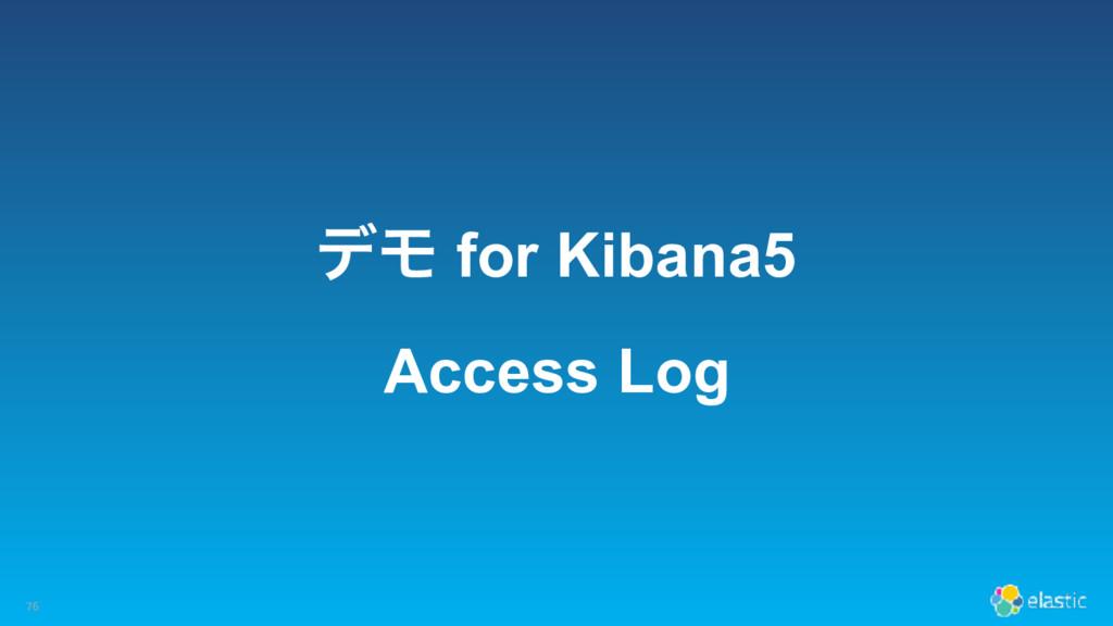 σϞ for Kibana5 Access Log 76