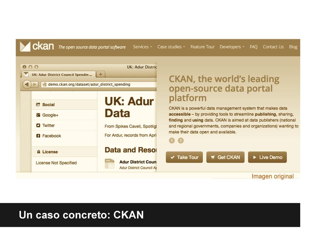 Un caso concreto: CKAN Imagen original