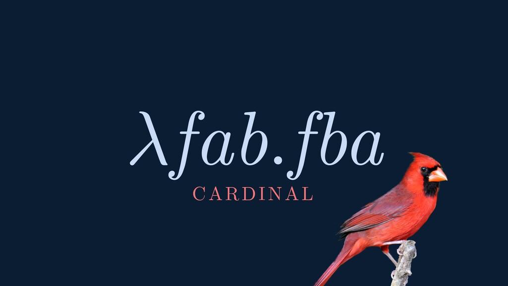 CARDINAL fab.fba