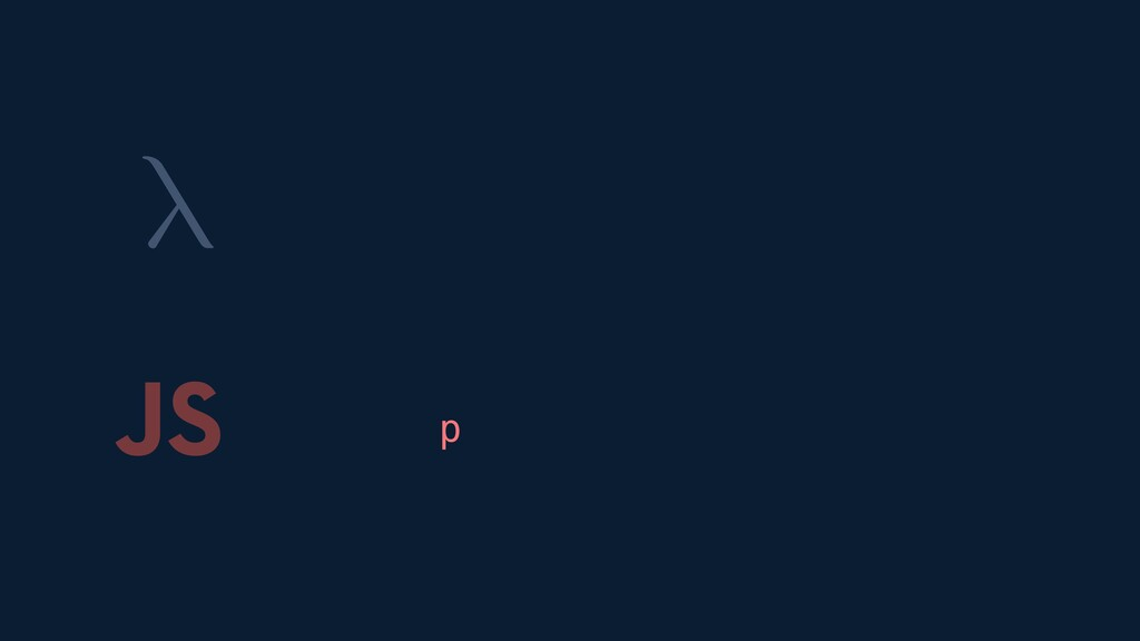 λ JS p