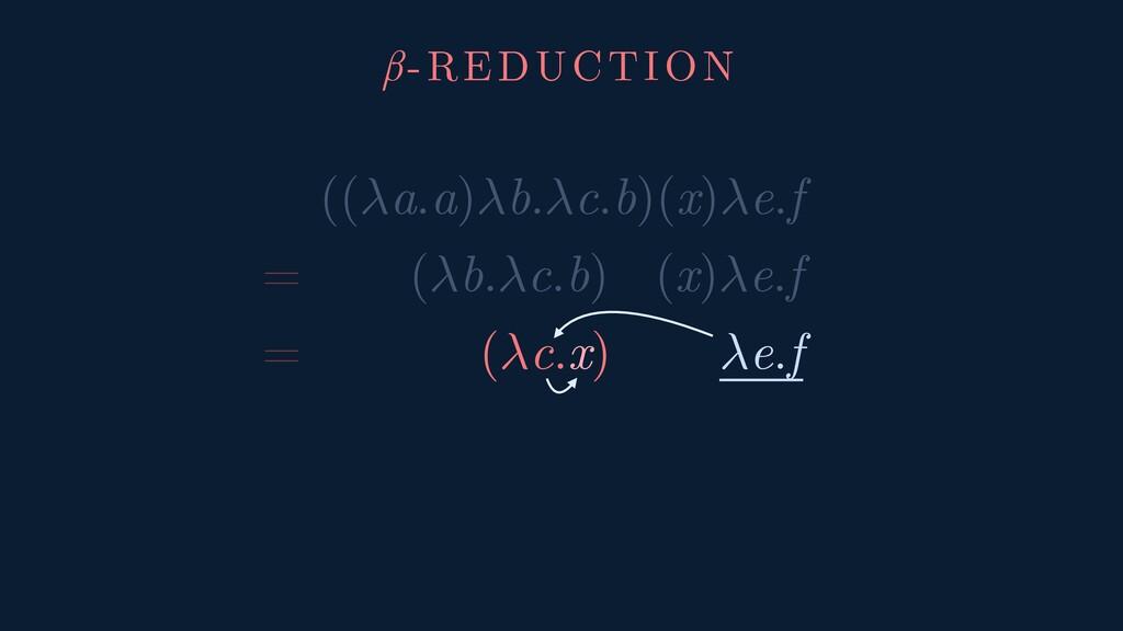 ((a.a)b.c.b)(x)e.f = (b.c.b) (x)e.f = (c.x) e.f...