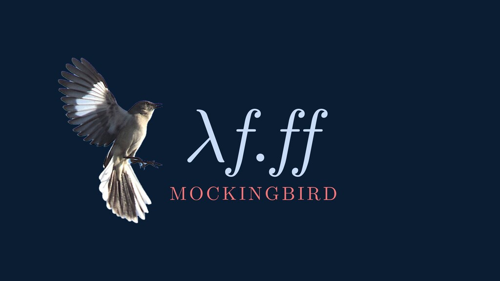 f.ff MOCKINGBIRD