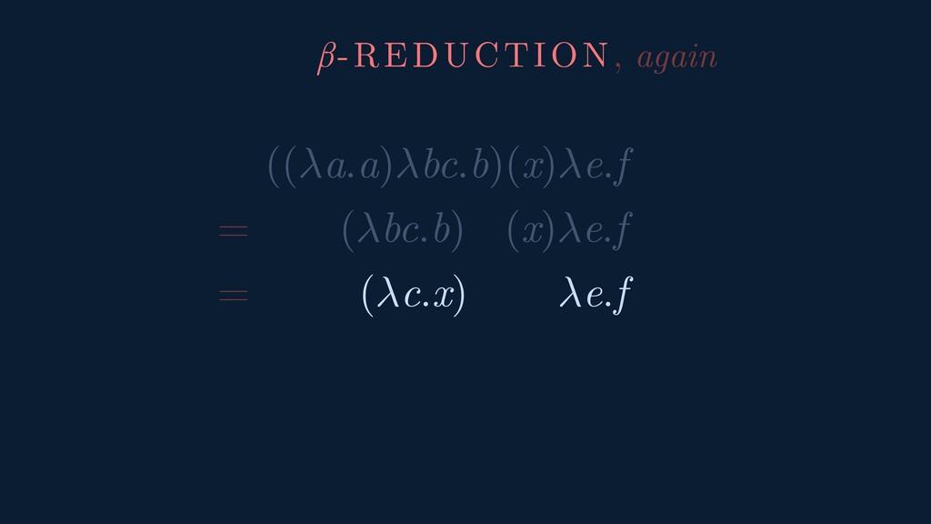 ((a.a)bc.b)(x)e.f = (bc.b) (x)e.f = (c.x) e.f β...