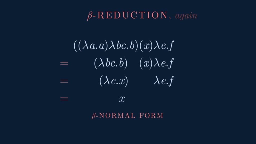 ((a.a)bc.b)(x)e.f = (bc.b) (x)e.f = (c.x) e.f =...
