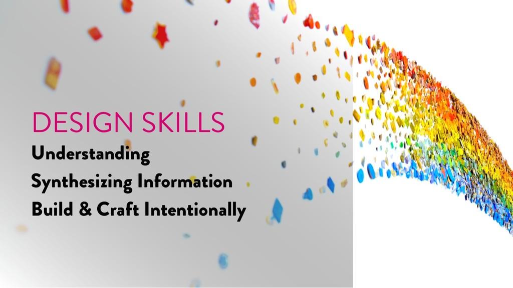 @marktimemedia DESIGN SKILLS Understanding Synt...