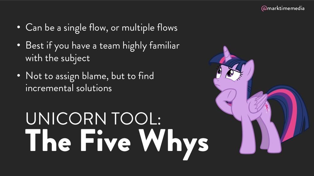 @marktimemedia UNICORN TOOL: The Five Whys • Ca...