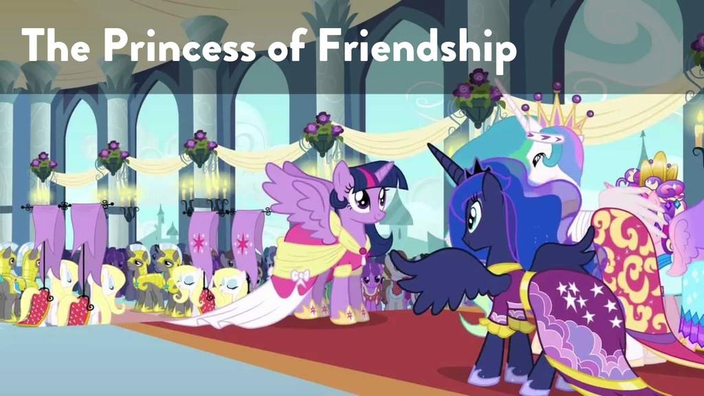 @marktimemedia The Princess of Friendship
