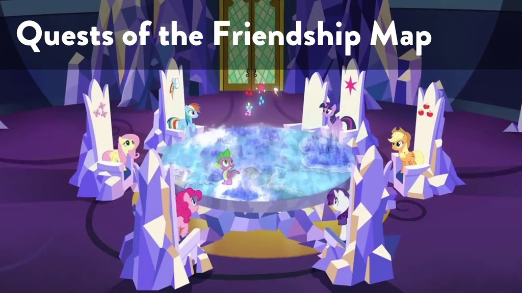 @marktimemedia Quests of the Friendship Map