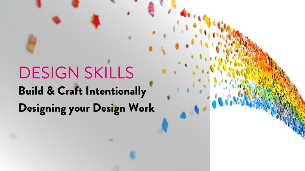 @marktimemedia DESIGN SKILLS Build & Craft Inte...