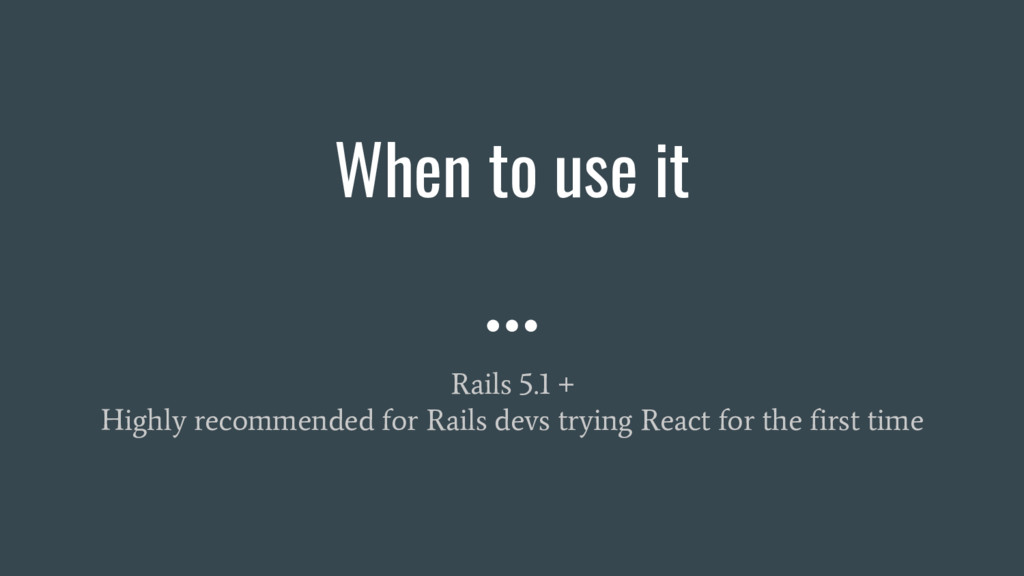 Rails 5.1 + Highly recommended for Rails devs t...
