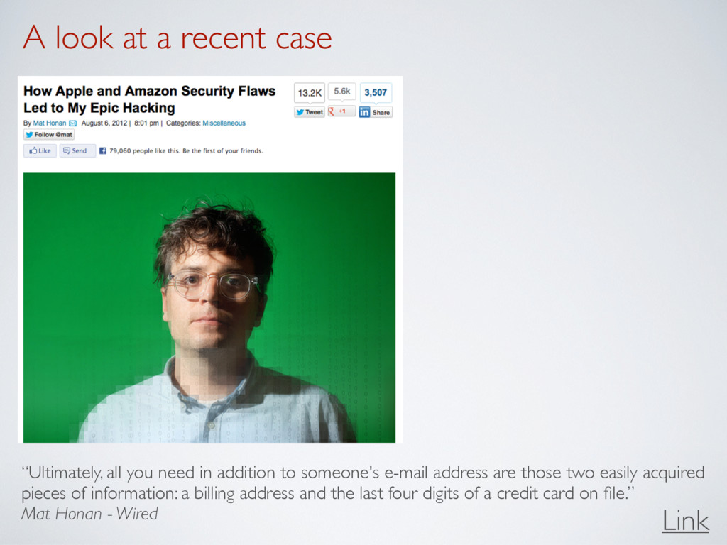 """A look at a recent case Link """"Ultimately, all y..."""