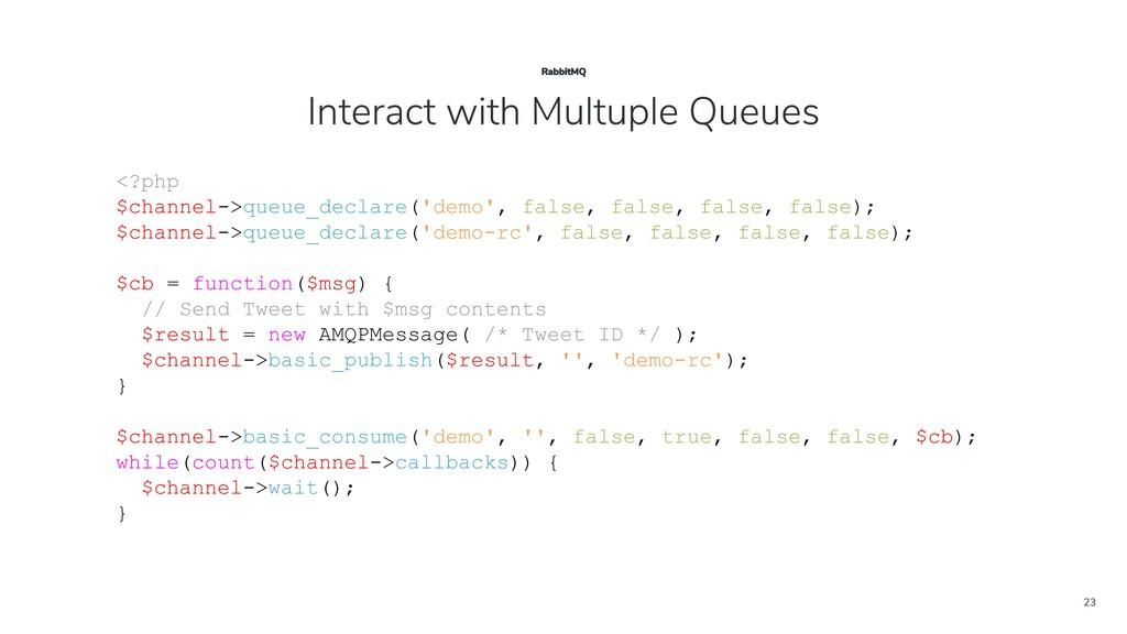 23 <?php $channel->queue_declare('demo', false,...