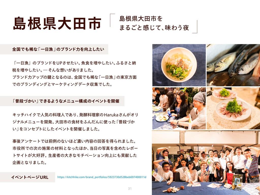 島根県大田市 事後アンケートでは前例のないほど濃い内容の回答を得られました。 市役所での次の施...